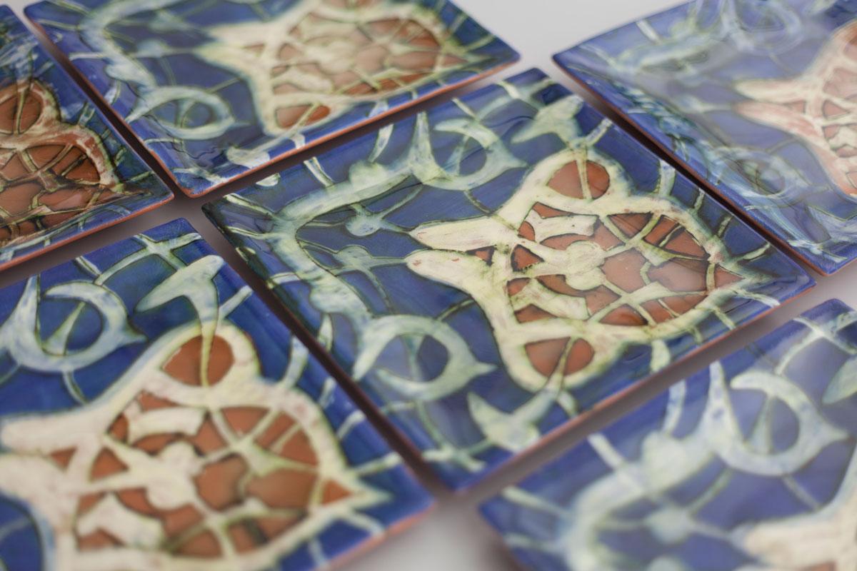 Piezas de cerámica de Lauren Karle
