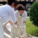 Performance de Rafaela Pareja en l'Alcora