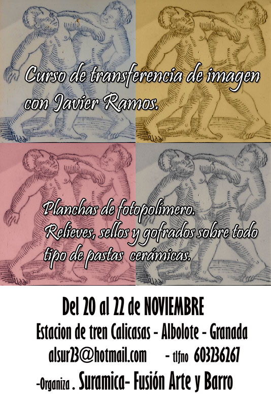 Cartel del curso de Javier Ramos