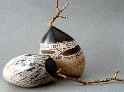 Pieza de cerámica de Mara García