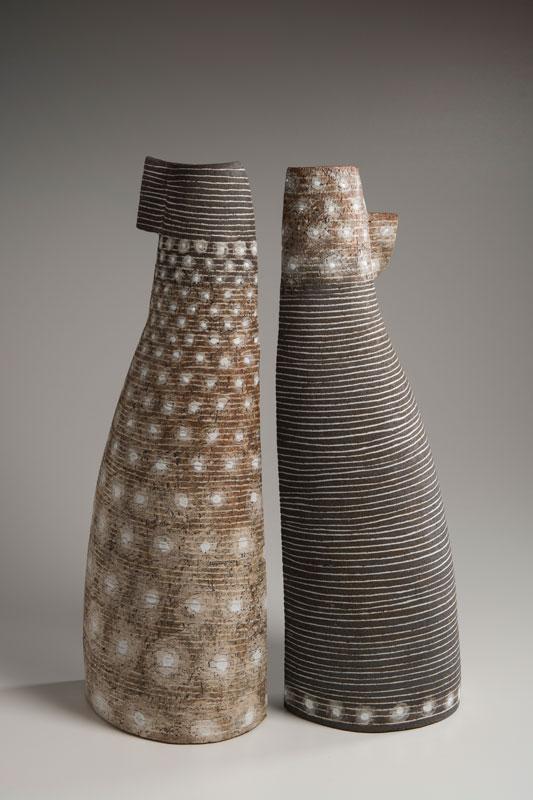 Pieza de cerámica de Petra Bittl