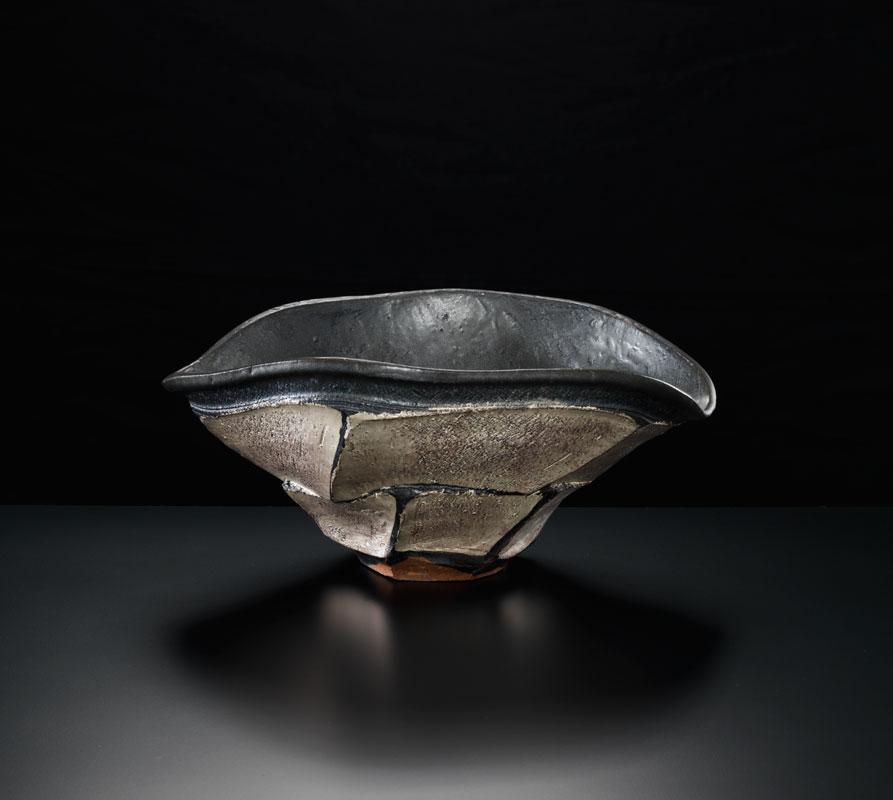 Pieza de cerámica de Shozo Michikaga