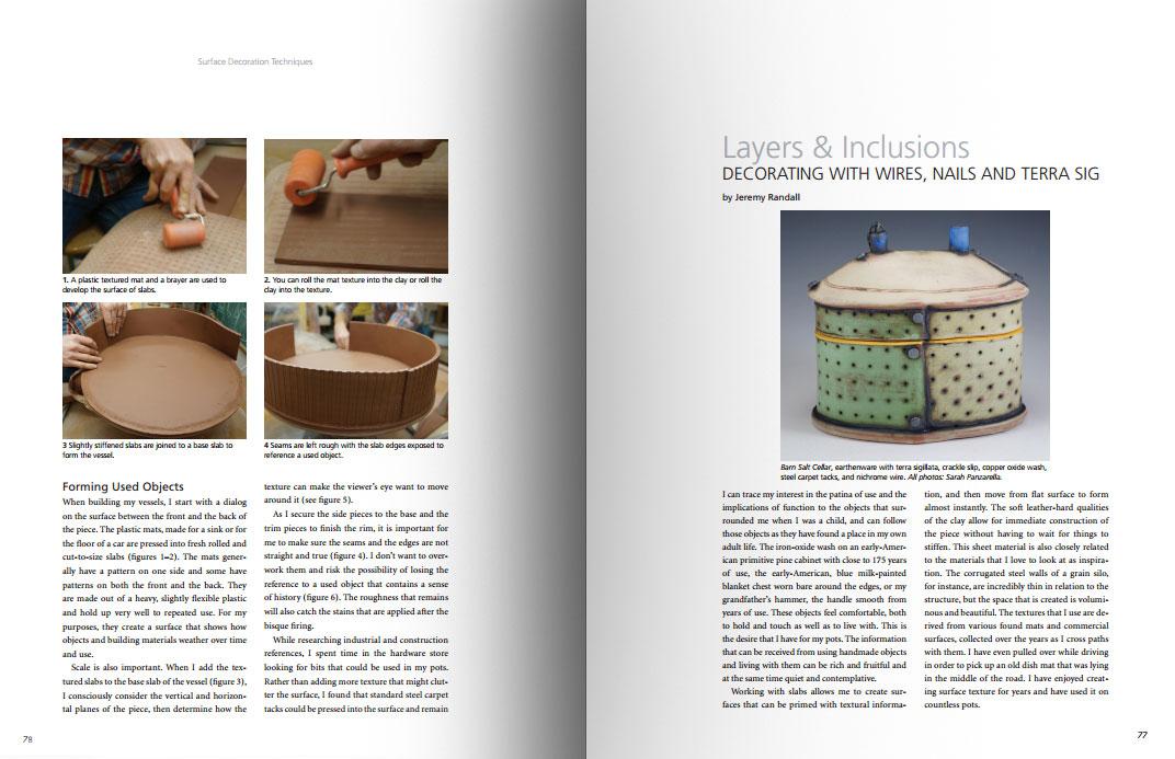 Páginas interiores del libro -Surface Decoration Techniques