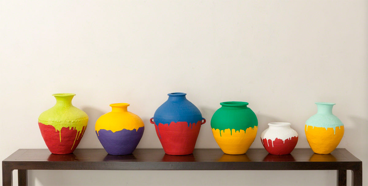 pieza en cerámica de Ai Weiwei