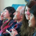 Asistentes a la Bienal de Cerámica de Manises