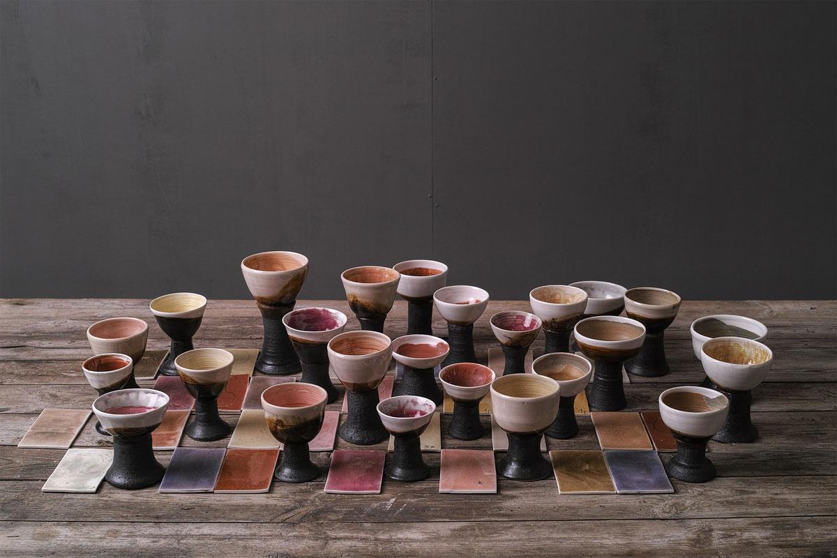 Instalación cerámica de Camil.la Pérez Salvà