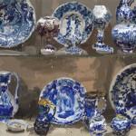Pieza de cerámica de Jan de Vliegher