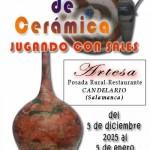 Cartel de la exposición de Juan Francisco Rodríguez