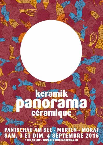 Cartel de la feria Keramik Panorama