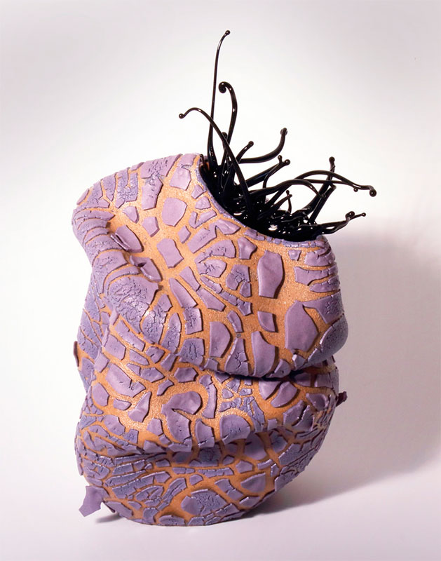 Pieza de cerámica de Ana Belén Montero
