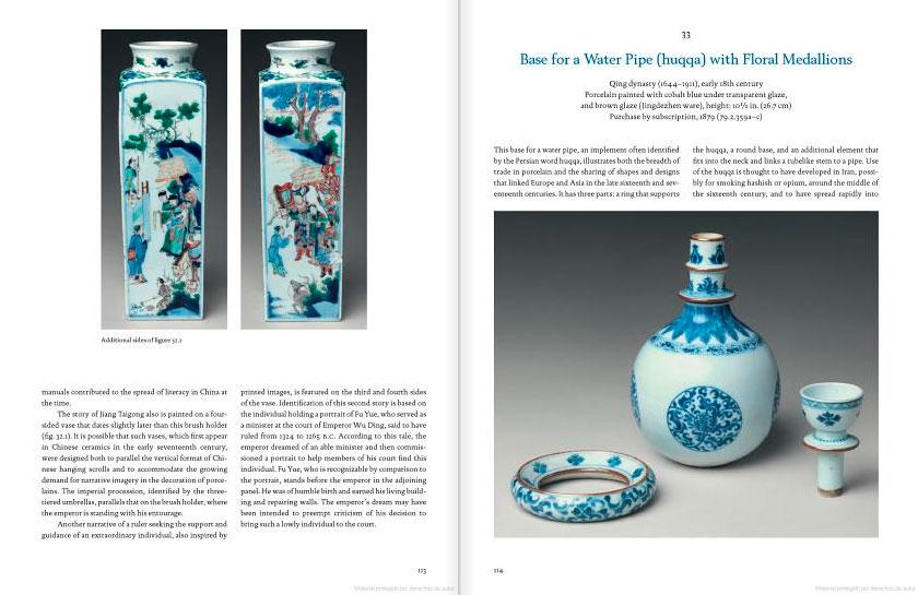 Páginas interiores del libro How to Read Chinese Ceramics