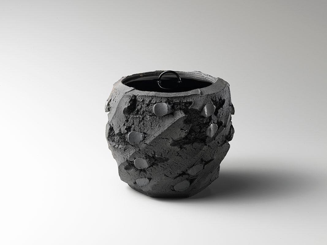 Pieza de cerámica de Shozo Michikawa