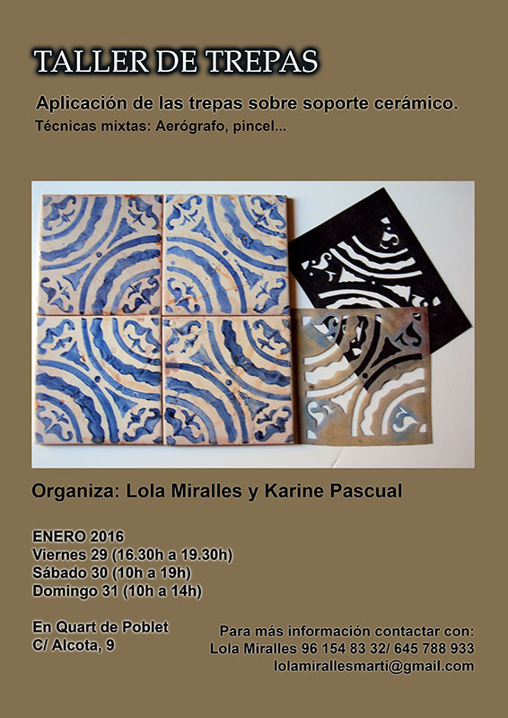 Curso de cerámica de Lola Miralles
