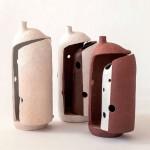 Pieza de cerámica de Takashi Matsuo