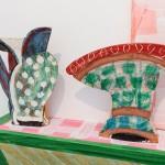 Pieza de cerámica de Betty Woodman en el ICA