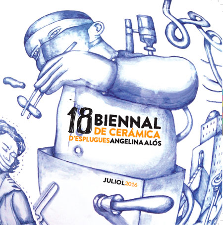 Cartel de la Biennal de Esplugues 2016