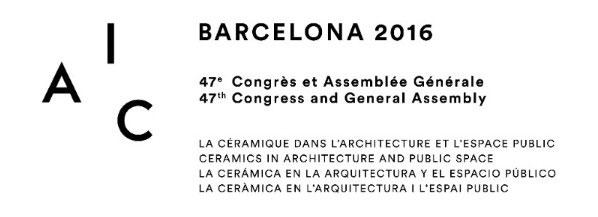Cartel del Congreso de la AIC en Barcelona