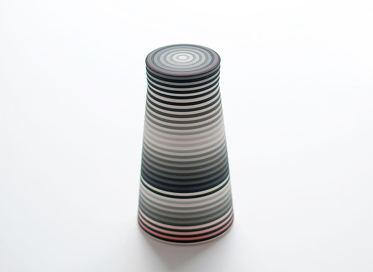 Pieza de cerámica de Jin Eui Kim