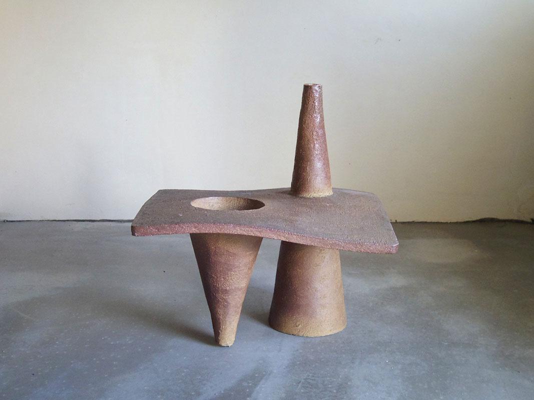 Pieza de cerámica de Bettina Samson