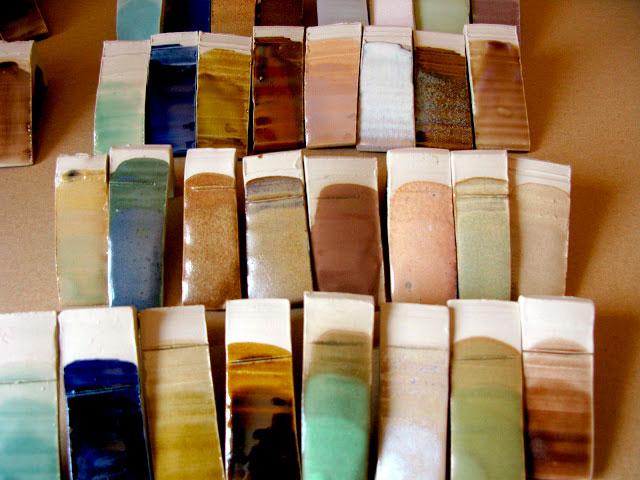 Foto de pruebas de esmaltes del curso de Eli Moretó