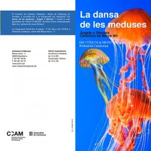 Folleto de la exposición de cerámica de Mercà Mir