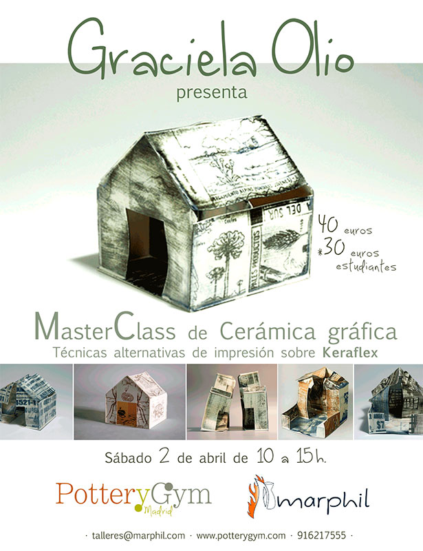 Cartel del curso de Graciela Olio