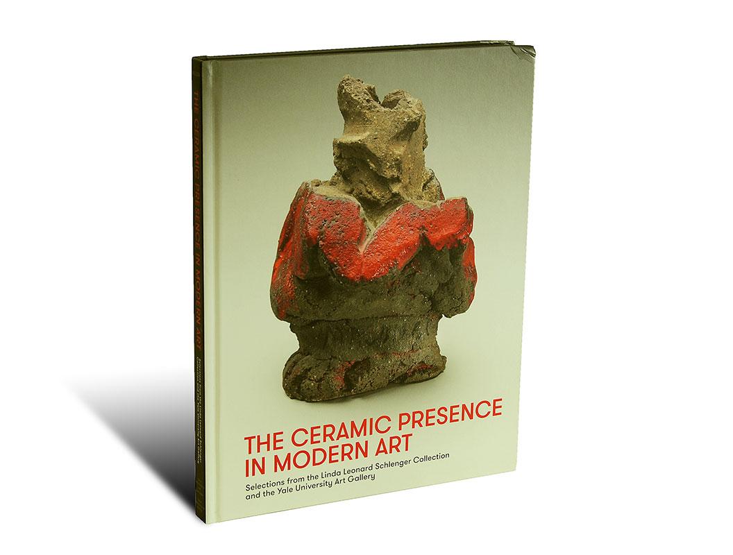 Portada del libro -The Ceramic Presence in Modern Art-, de la editorial Yale University Press