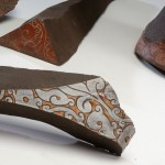 Pieza de cerámica de Theodora Chorafas