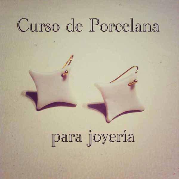 Cartel del curso de joyería cerámica de María Torné