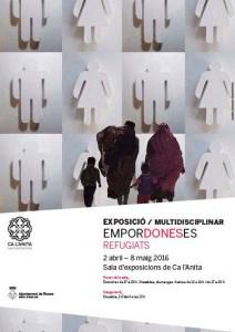 cartel de la exposición Empordoneses