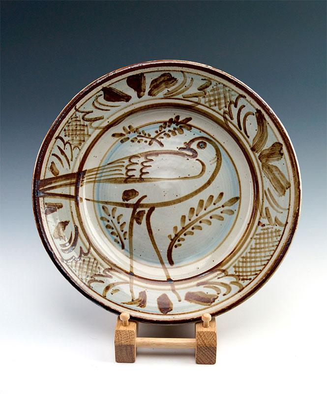 Pieza de cerámica de Seth Cardew