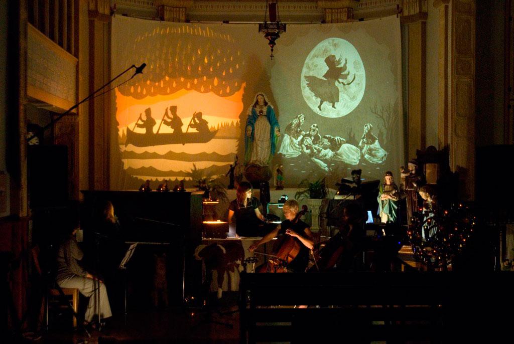 Performance de Shary Boyle