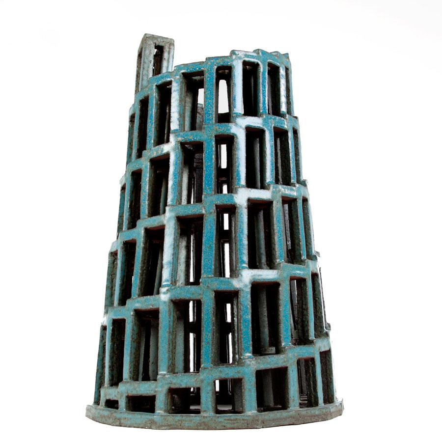 Pieza de cerámica de Carlos Izquierdo