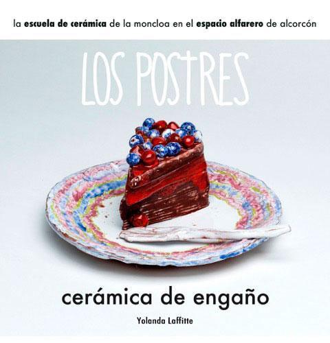 Cartel de la exposición en Alcorcón Espacio Alfarero