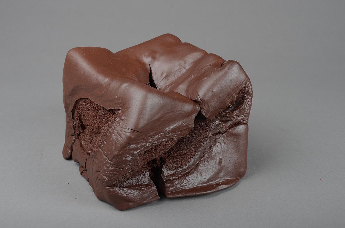 Pieza de cerámica de Joan Serra