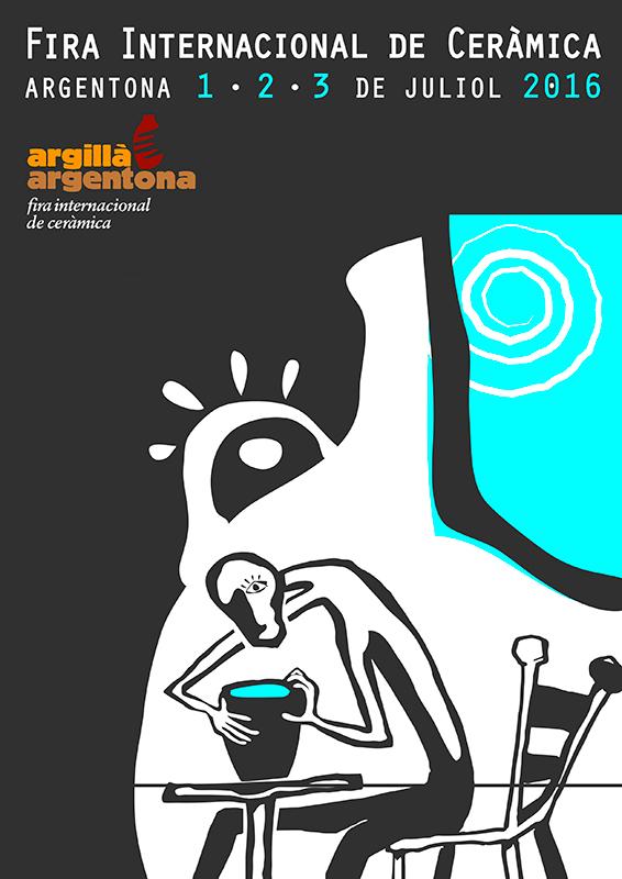 cartel de la feria argillà Argentona