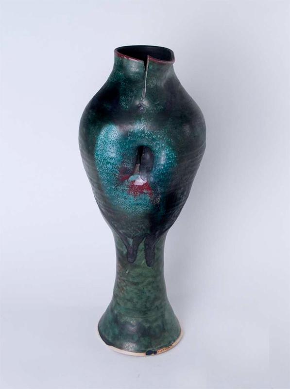 Pieza de cerámica de Lluis Castaldo
