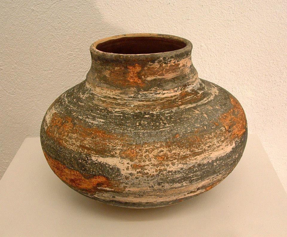Pieza de cerámica de Carles Torrent