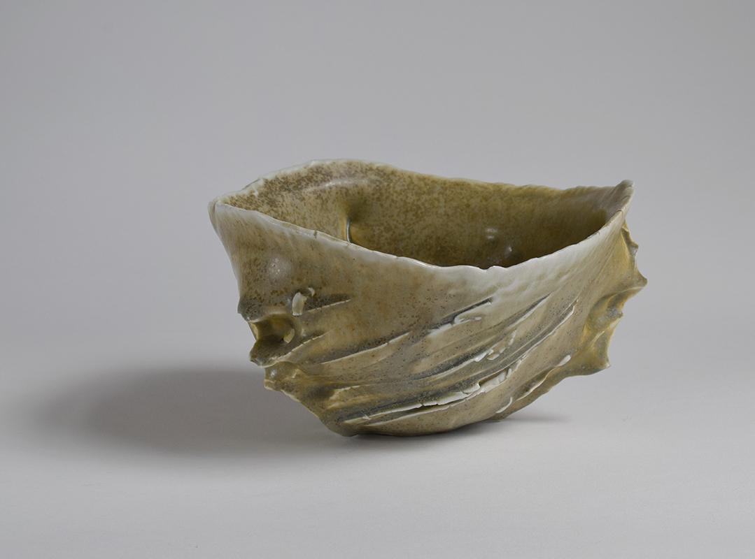 Pieza de cerámica de Claude Champy