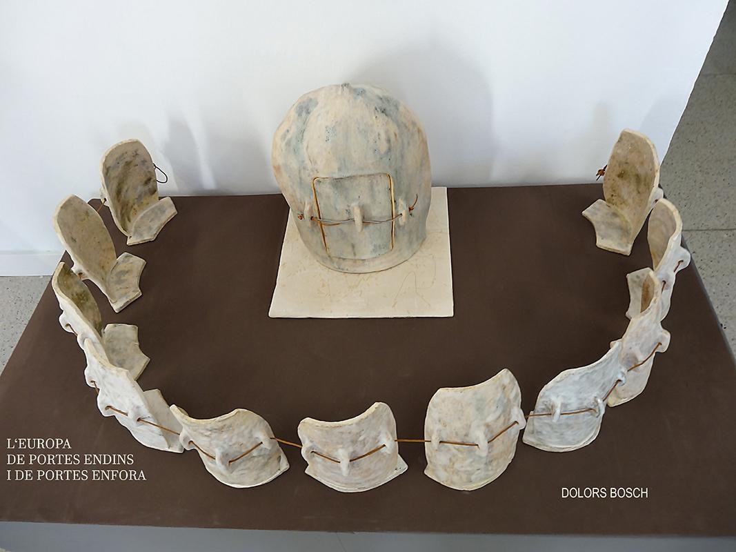 Pieza de cerámica de Dolors Bosch