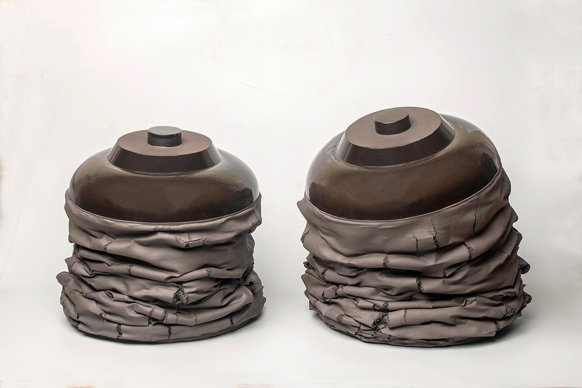 Pieza de cerámica de Gregorio Peño