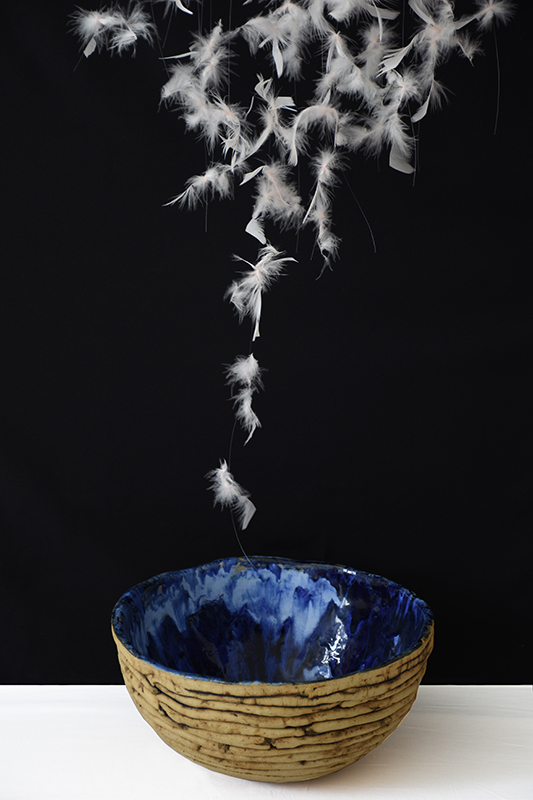Pieza de cerámica de M. Antonia Zamora