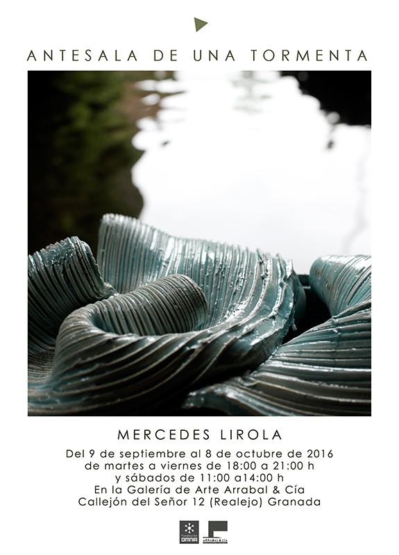 Pieza de cerámica de Mercedes Lirola