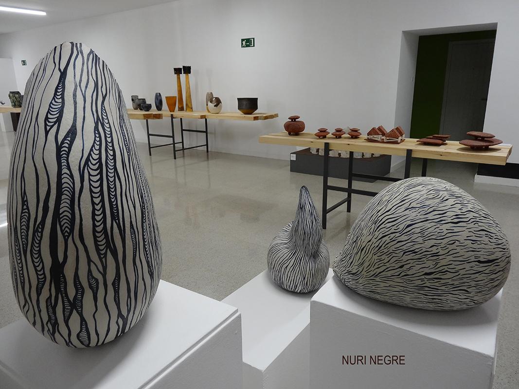 Piezas de cerámica de Nuri Negre