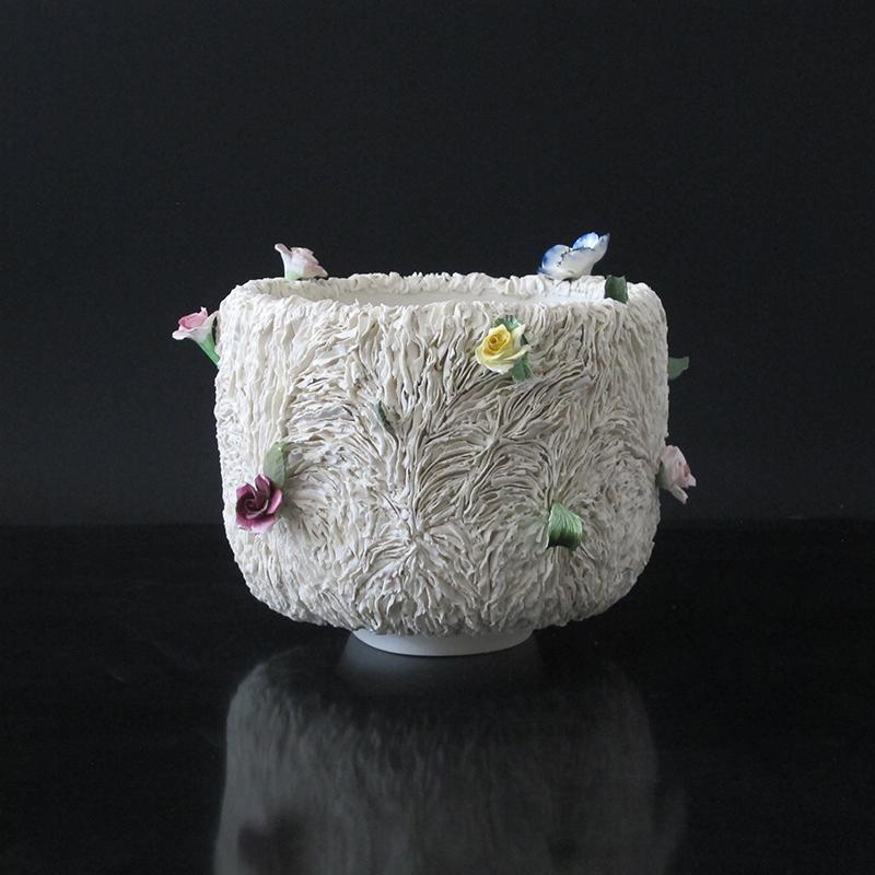 Pieza de cerámica de Sophie Aguilera y Olivia Walker