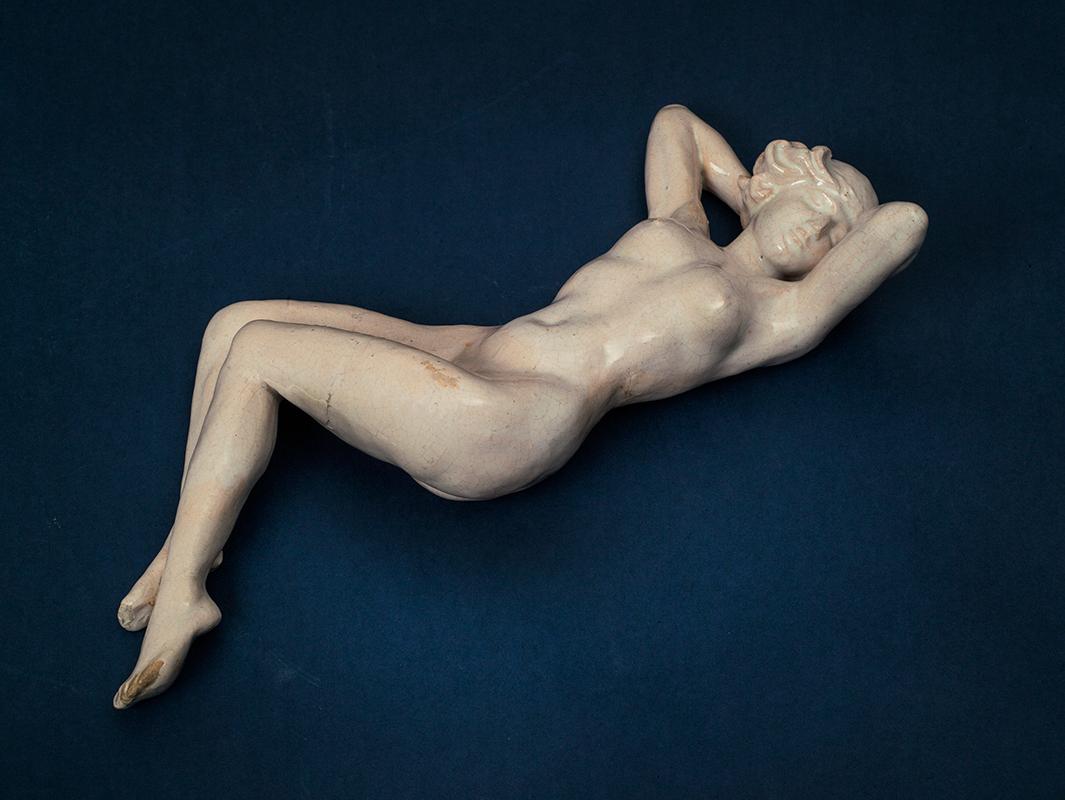 Pieza de cerámica de Chris Lanooy