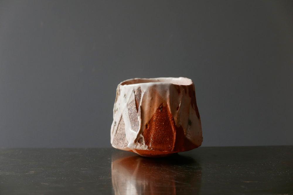 Pieza de cerámica de Akira Satake