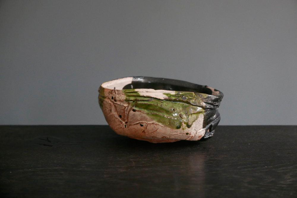 Pieza de cerámica de Gordon Crosby