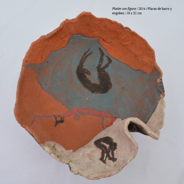 Pieza de cerámica de Marco Lopez Prado