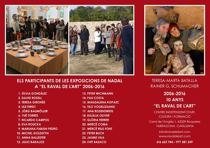 Exposición en el Raval de l'Art